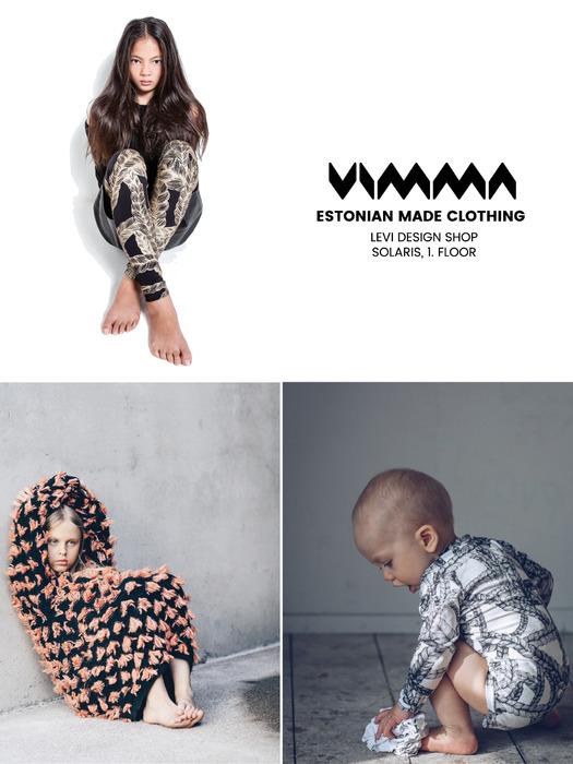 79ff76622b8 VIMMA kvaliteetsed ja uuenduslikud riided kogu perele